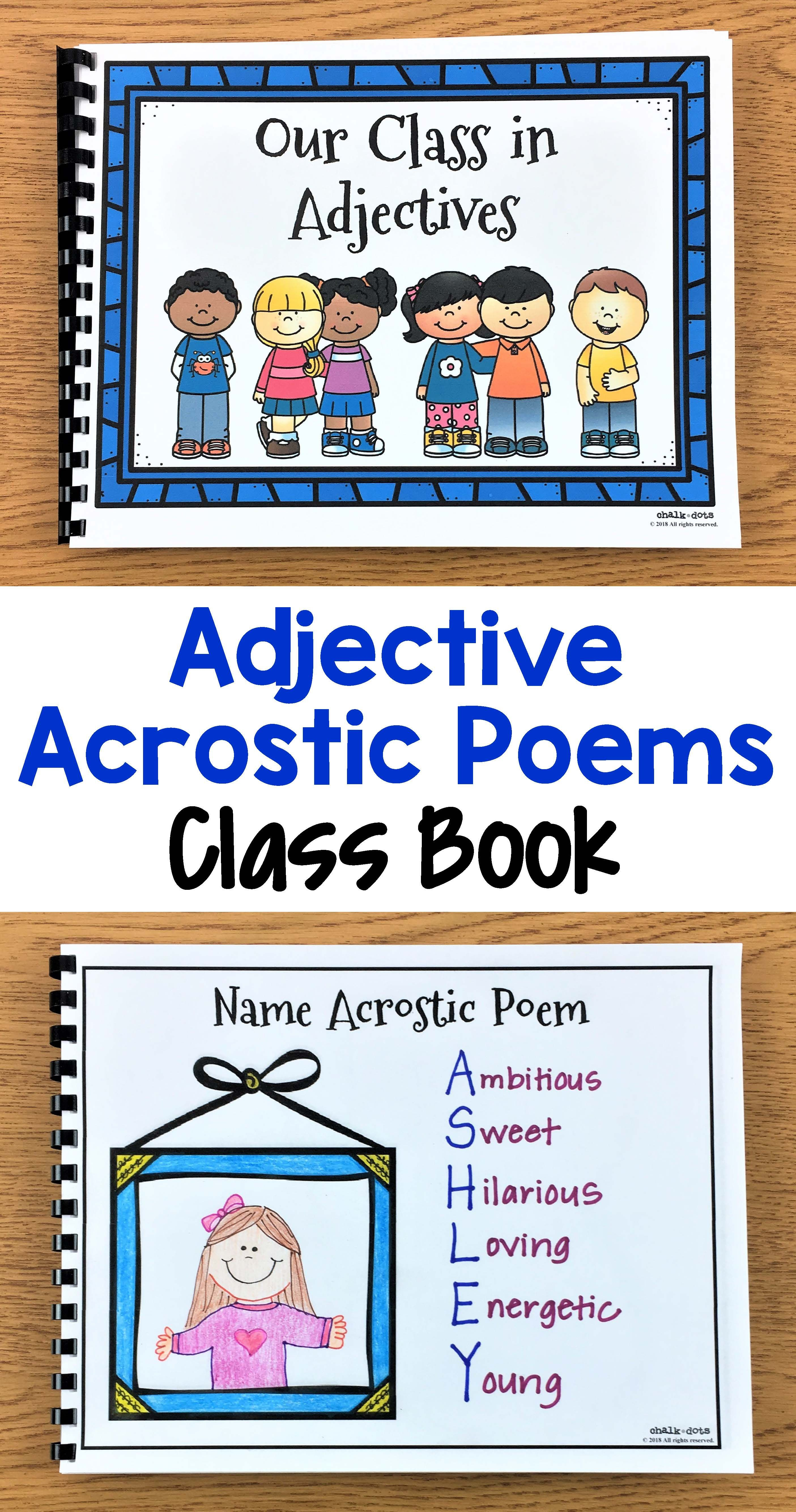 Adjective Activities With Images
