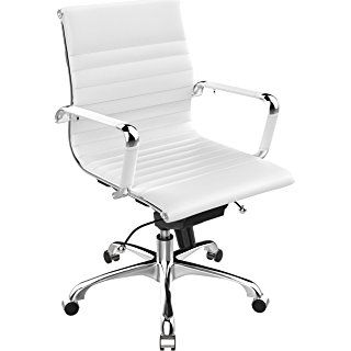Poly and Bark Eames Style AG Management Office Chair in Soft ...