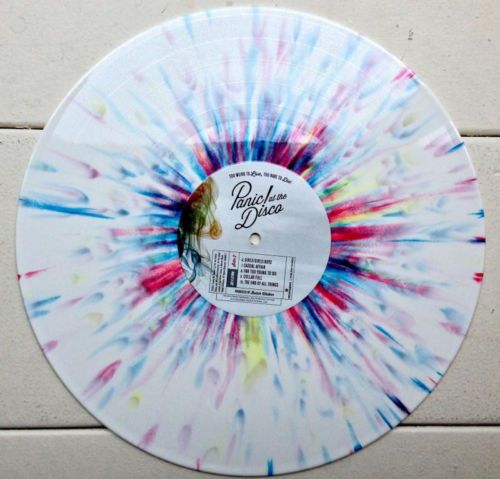 New Panic At The Disco Too Weird To Live Rare Die White Splatter Vinyl Lp Sealed Panic At The Disco Vinyl Music Vinyl