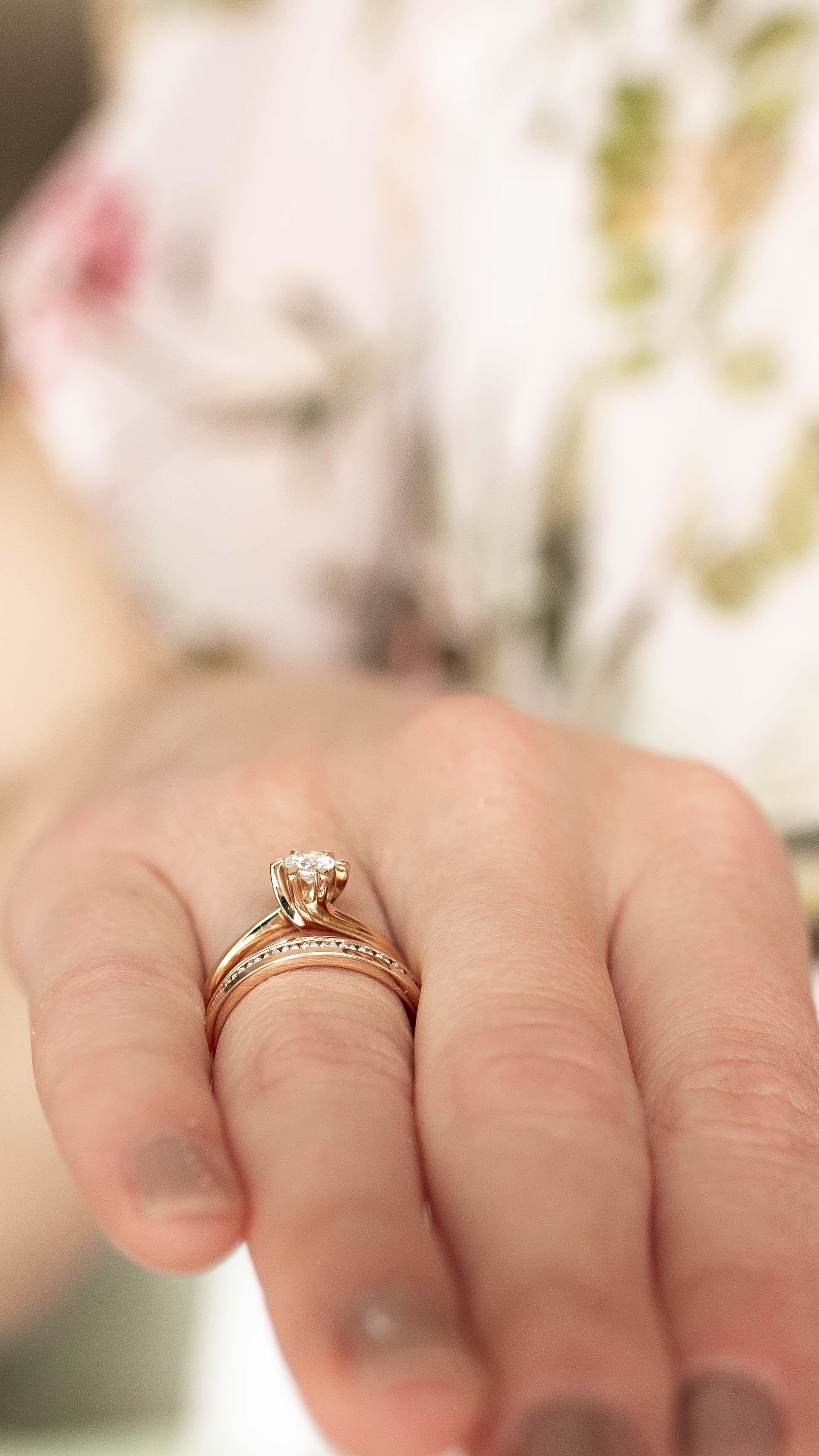 Verlobungsring Rose Ring Verlobung Verlobungsring Brautschmuck