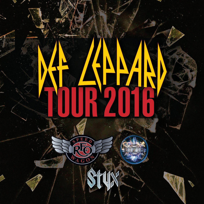 gorockfest: def leppard tour dates 2016   tour dates   pinterest