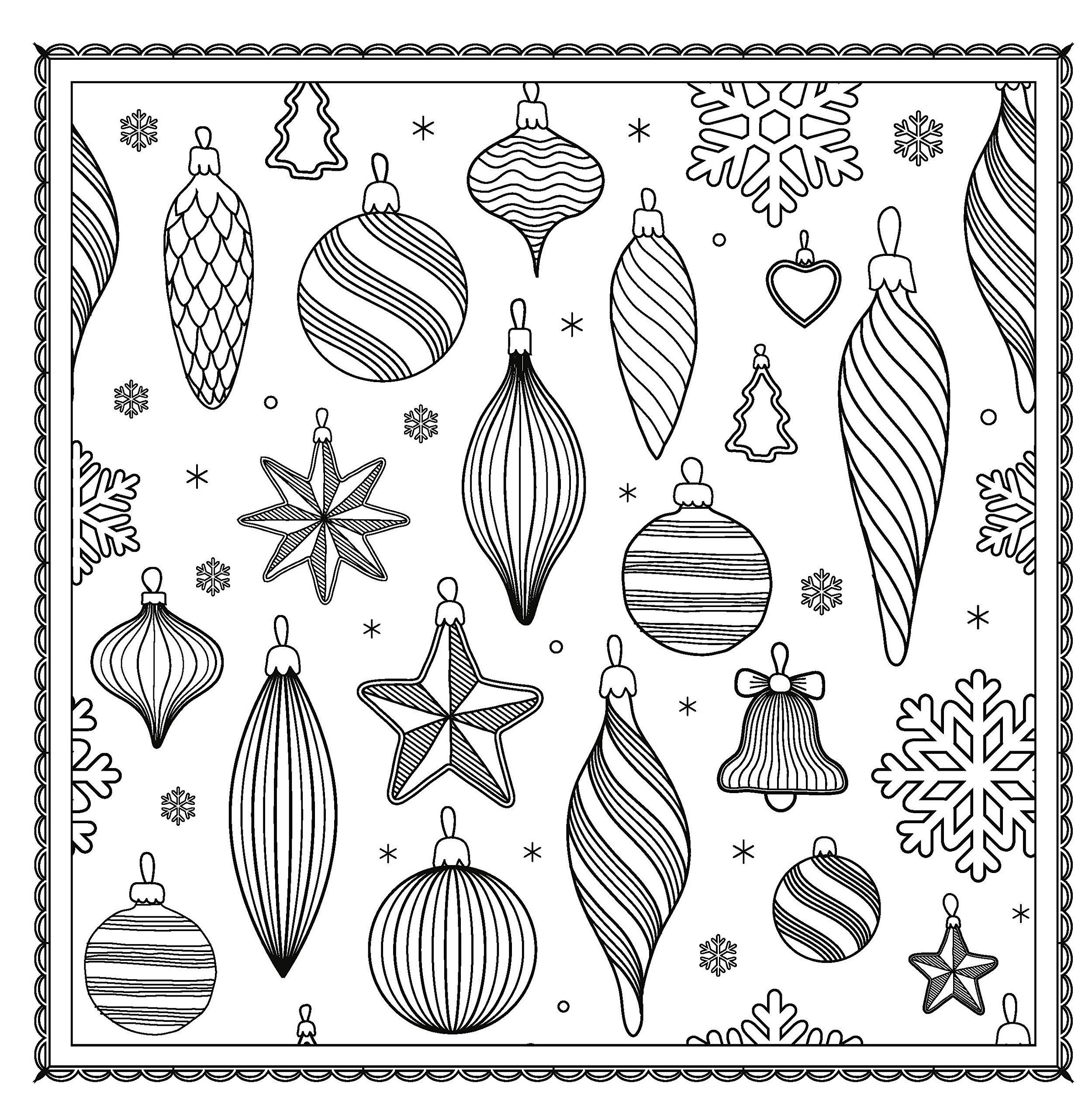 Winter Magic Beautiful Holiday Patterns Coloring Book For Adults Color Magic Arsedition 9781438007335 A Color Magic Christmas Coloring Pages Winter Magic