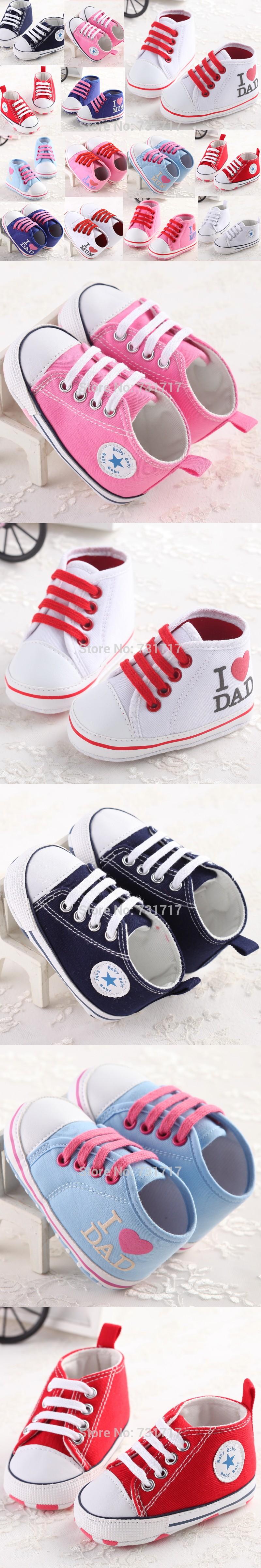 Simple Cool Anti slip Cross tied Boys &Girls Infant Sneakers Print
