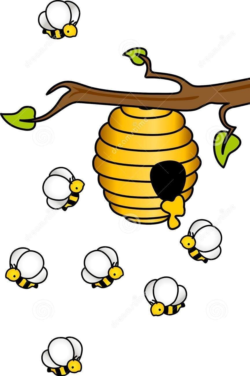honey bee imprimibles de colores pinterest bees craft and rh pinterest nz  honey bee hive clip art free