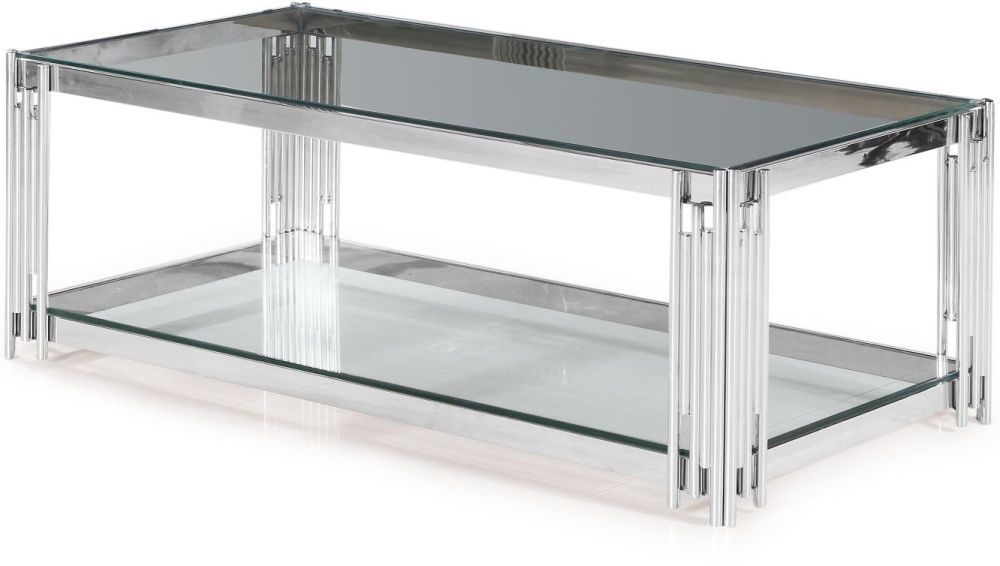 Chrome And Glass Coffee Table Uk 7