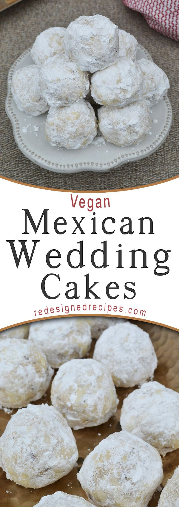 Photo of Vegan Mexican Wedding Cakes – Redesigned Recipes