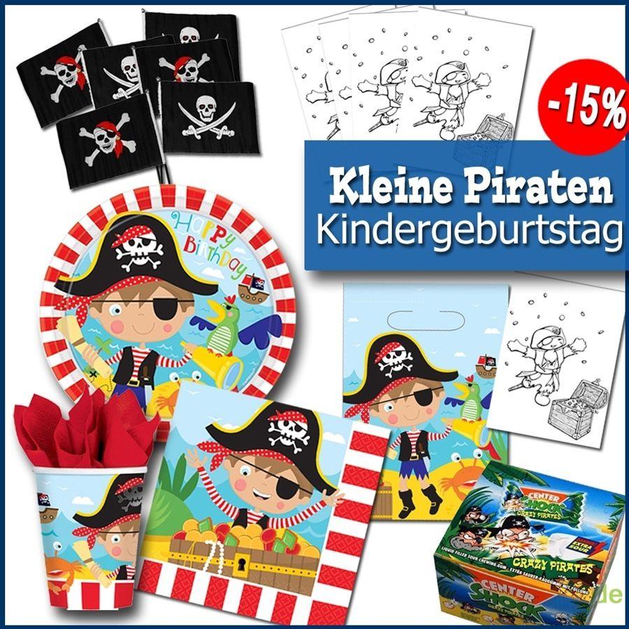 Kleine Piraten - Partypaket Kindergeburtstag | Pirat, Partygeschenke ...