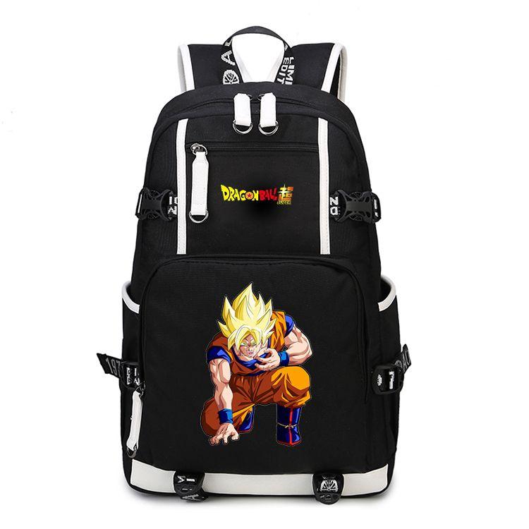 2017 new anime backpack dragonball z dragon ball z scholl bags bookbag satchel work leisure fashion - Cartable Dragon Ball Z