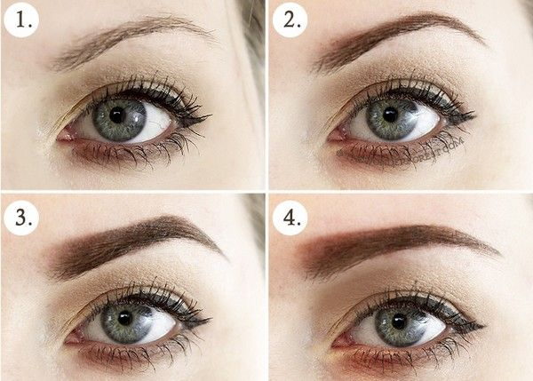 Top 5 Perfect Eyebrow Shapes For Heart Shaped Face   good ...