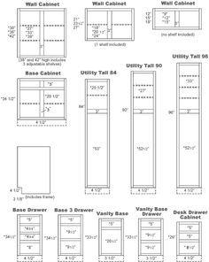 Kitchen Cabinets Drawer Sizes Kraftmaid