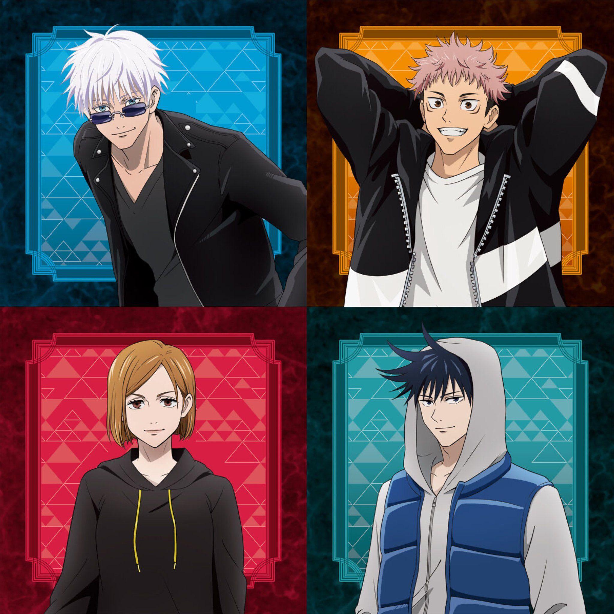 Jujutsu Kaisen On Twitter Anime Jujutsu Anime Guys