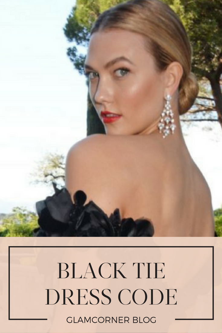 what does it mean when wedding invitation says black tie invited%0A BlackTie Dress Code  u     A GlamCorner Guide