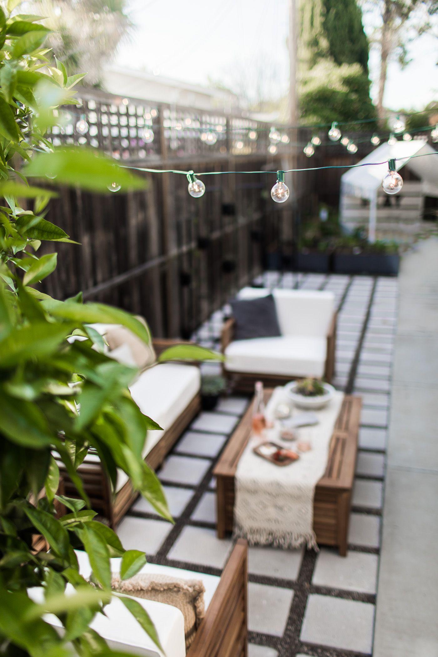 A modern-tropical California outdoor living Room ... on Tropical Outdoor Living id=92465