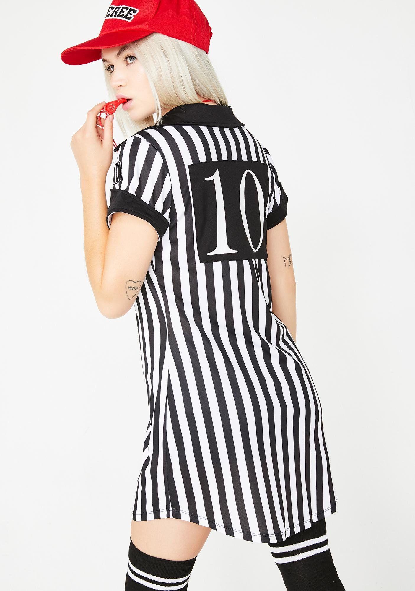 Halloween Referee Costume Dolls Kill in 2020 Referee