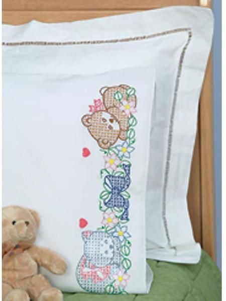 Pillowcases - Cross Stitch Patterns & Kits - 123Stitch com | cross