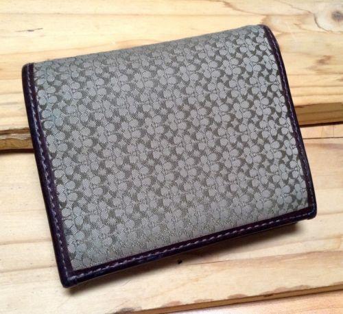 Men's COACH Signature SMALL C Khaki Brown Jacquard Leather Wallet https://t.co/B1M44y4n2K https://t.co/3hFwRIygGi