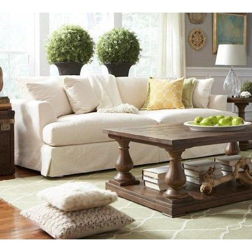 Good BeModern Cloud Grand, Extra Long Slipcover Sofa