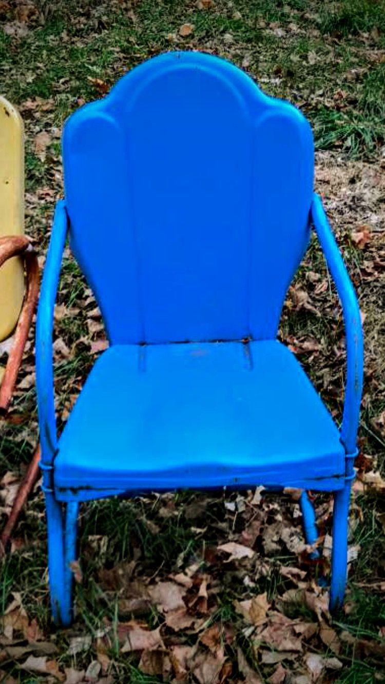 Pin By Don Storer On Arvin Vintage Metal Lawn Chair