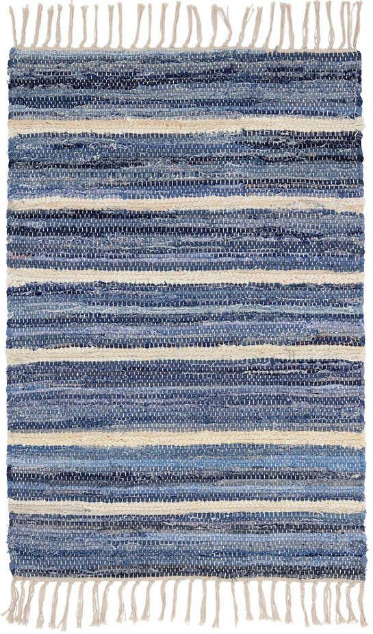 Pin By Ela On Weaving Art In 2020 Denim Rag Rugs Cotton Rug Rag Rug