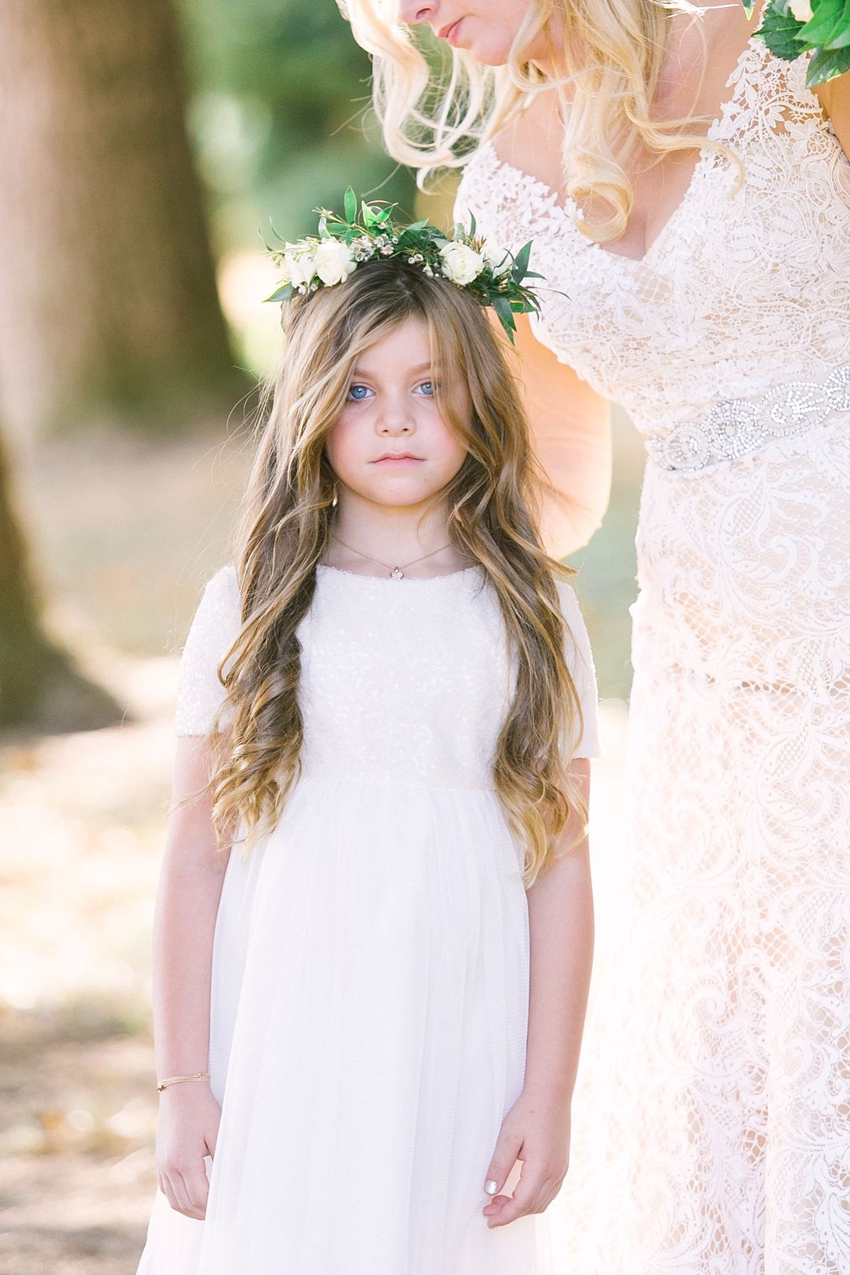 White and green flower girl flower crown knoxville botanical white and green flower girl flower crown knoxville botanical gardens2206g izmirmasajfo