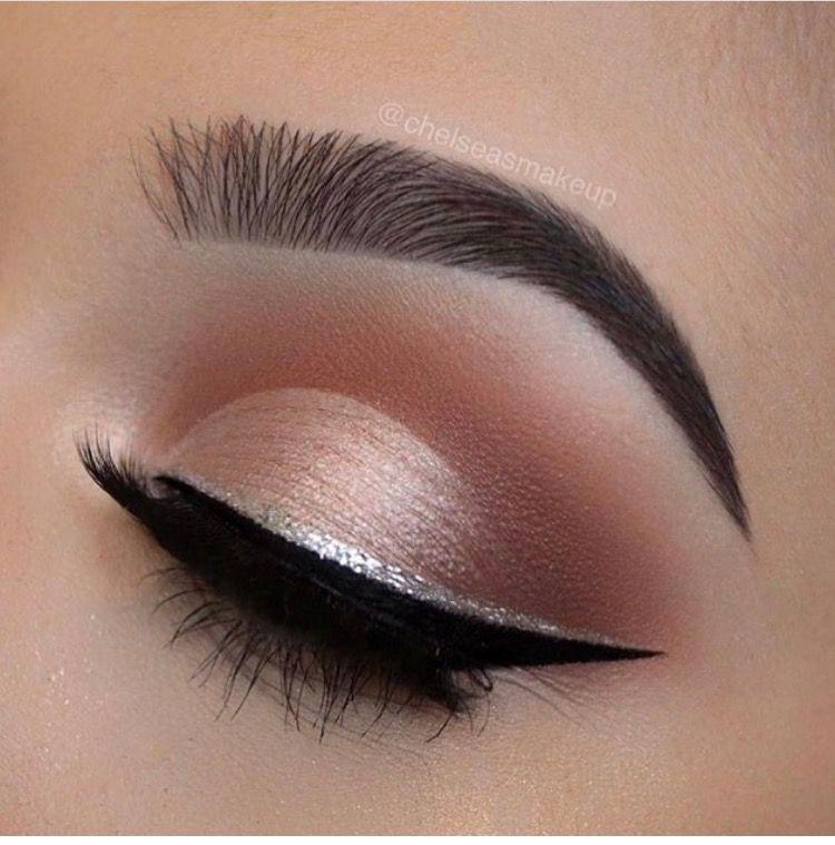 Cat Eye Silver Eye Makeup Smokey Eye Makeup Eyeshadow Makeup