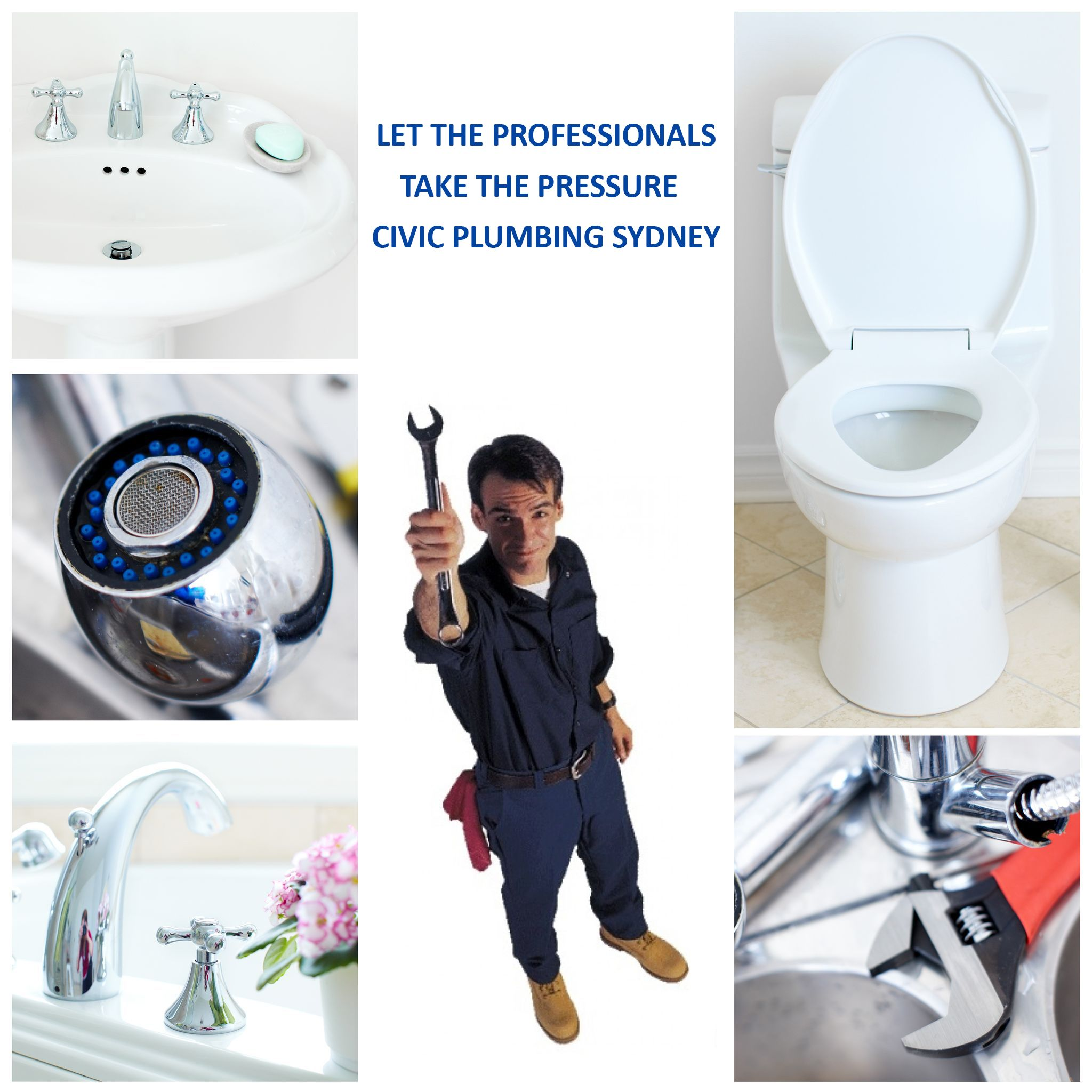 Civic Plumbing's 20 years serving in Sydney make us reliable and we aim to fix your problem quickly and reliably. Call us to keep your home healthy.