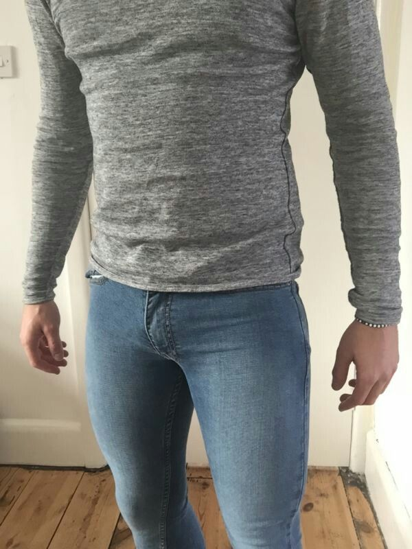 Very Low Rise Mens Jeans