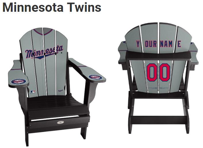 Awe Inspiring Minnesota Twins Mlb Mlb Chairs Chair Adirondack Chairs Machost Co Dining Chair Design Ideas Machostcouk