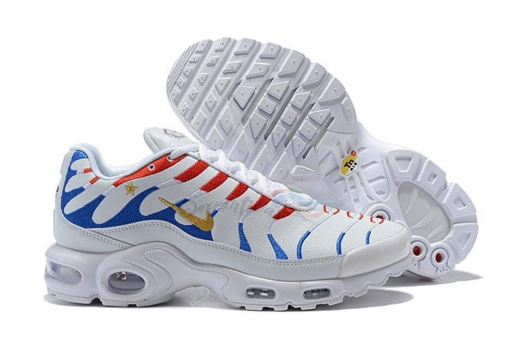 2019 的 Men Nike Air Max Plus Tn Ultra Dark Blue White Shoe 主题