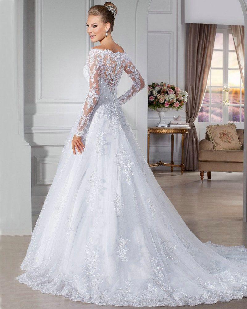 Vintage Lace Off The Shoulder Wedding Dress Google Search