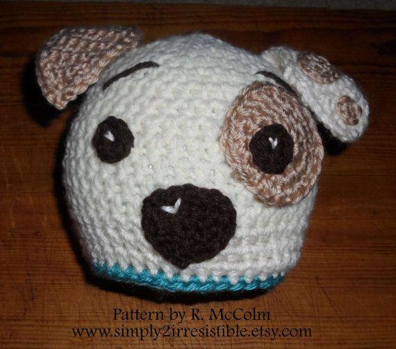 Hound Dog Puppy Hat Pattern Crochet Pattern 19 Newborn To Adult