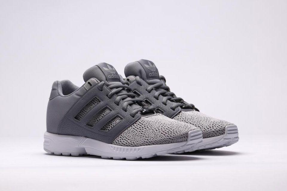 Adidas Zx Flux Grey White