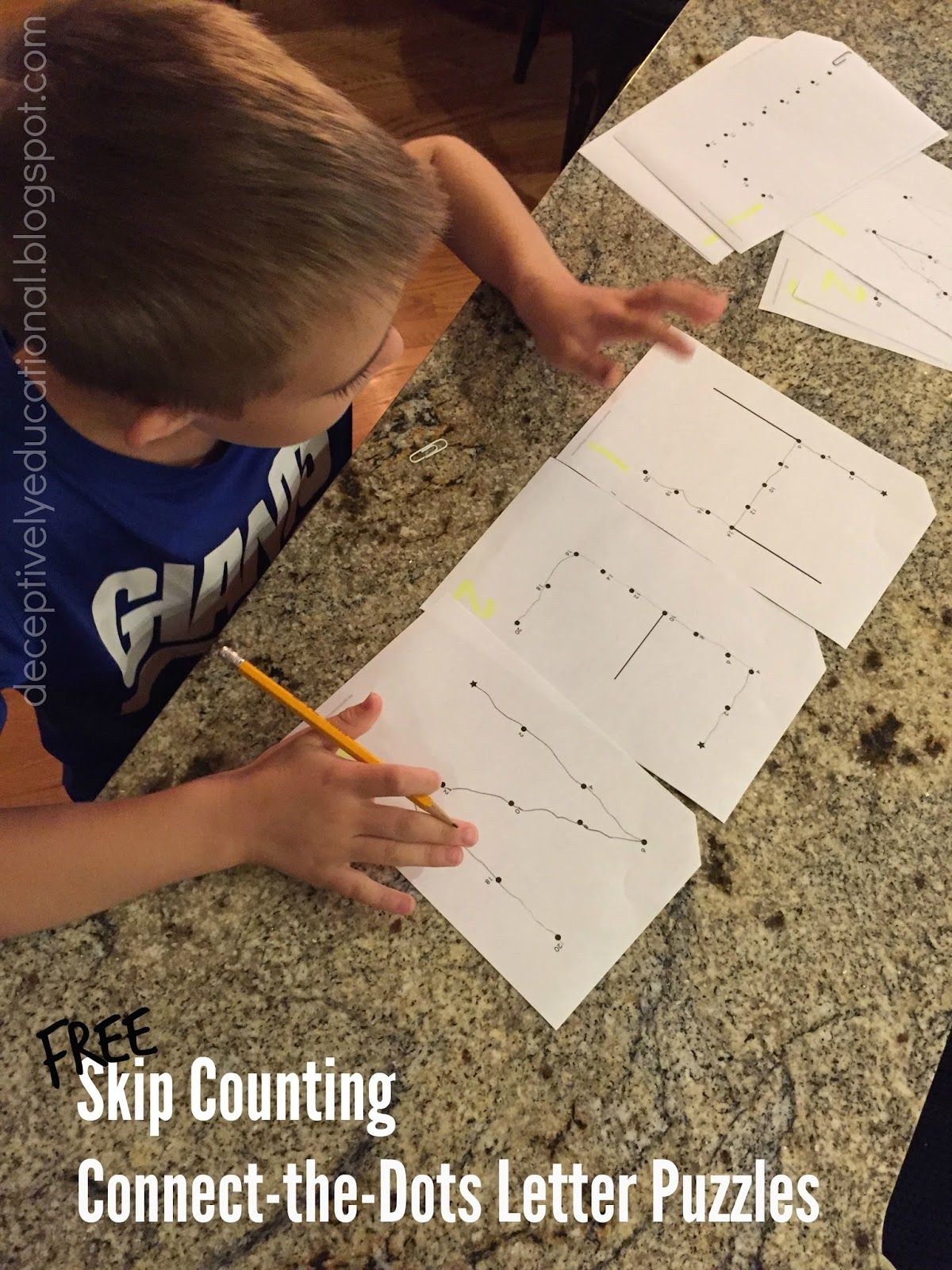 Free Skip Counting By 2s Letter Puzzles Kids Practice