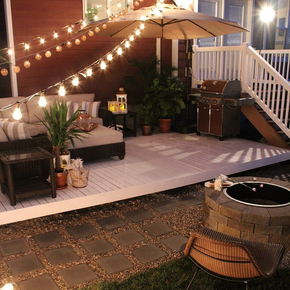 Super Simple Ideas For People Who Hate Yard Work: Dreamy At Home Yoga Space Inspiration