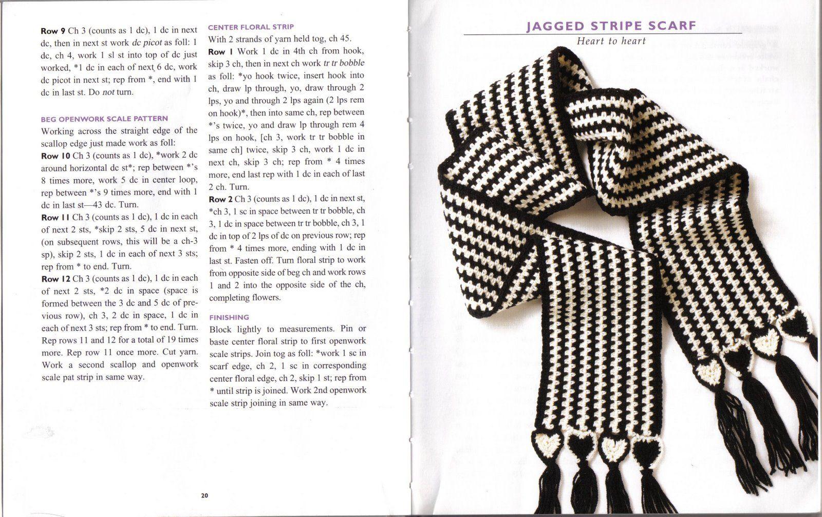 Patrones Crochet, Manualidades y Reciclado: 16 BUFANDAS MODELOS PARA ...