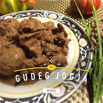 Gudeg Jogja Makanan Resep Masakan Indonesia Makanan Enak