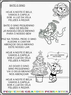 Músicas natalinas para crianças