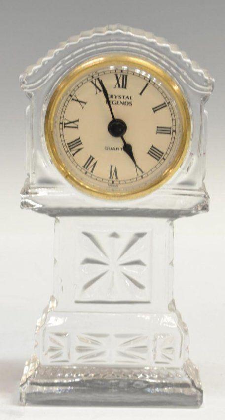 Waterford Crystal Clocks Inger Desk Lot 253