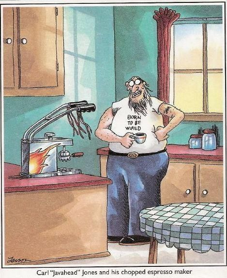 Chopped espresso maker   Coffee = Happiness   Pinterest   Java ...