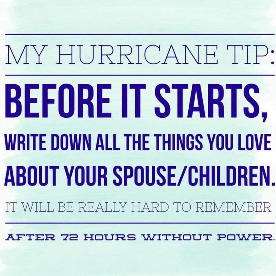 Hurricane Humor Hurricane Preparedness Hurricane Prep Hurricane Memes