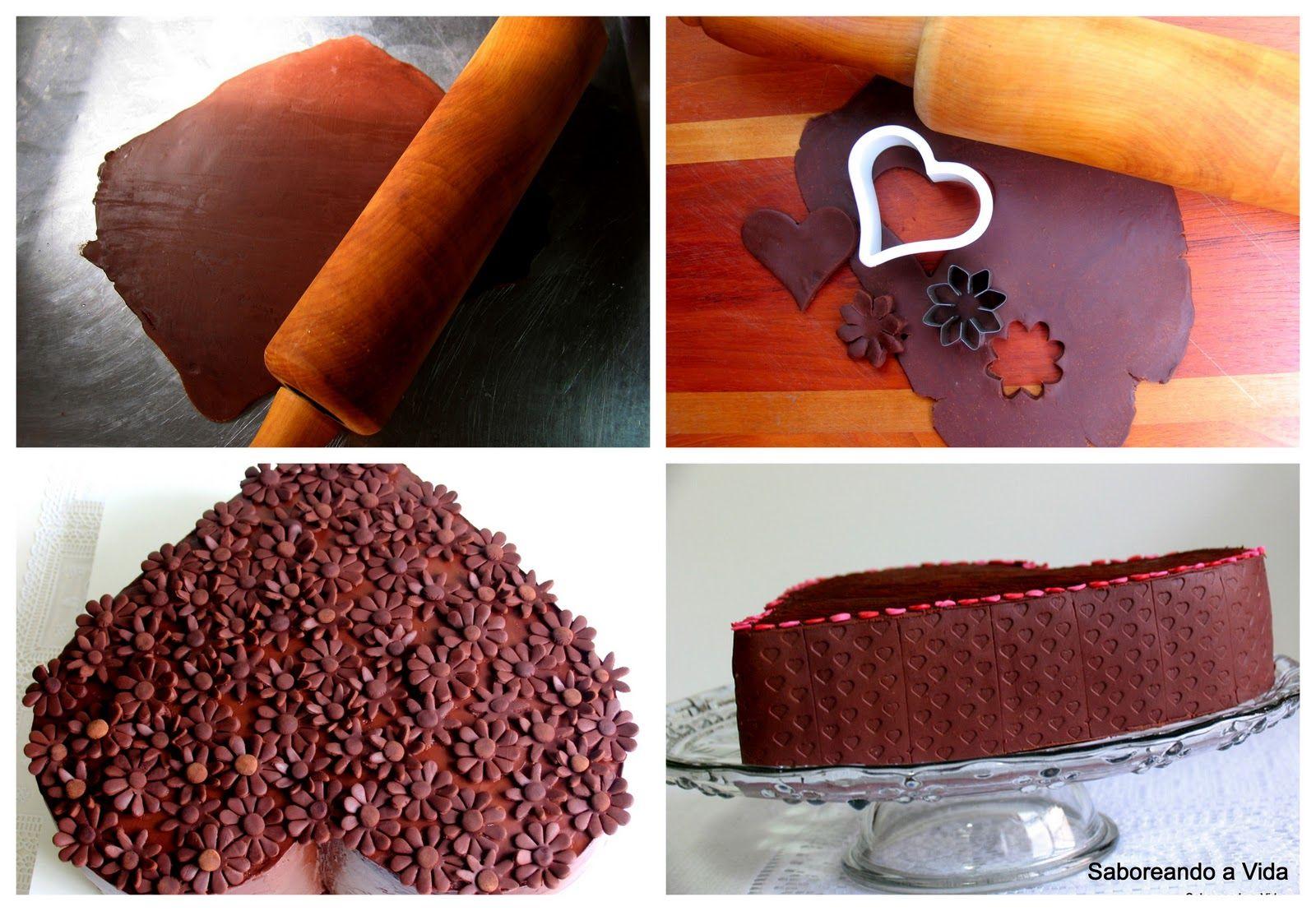 saboreando a vida: Pasta de Chocolate Fantástica - e Esclarecimentos