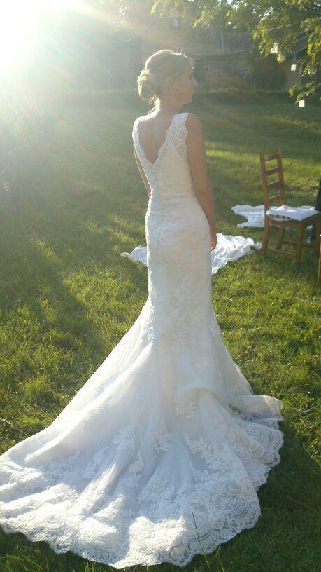 ♥ Designer Kleid – Spitze – St. Patrick – Modell Harry – Schleppe ...