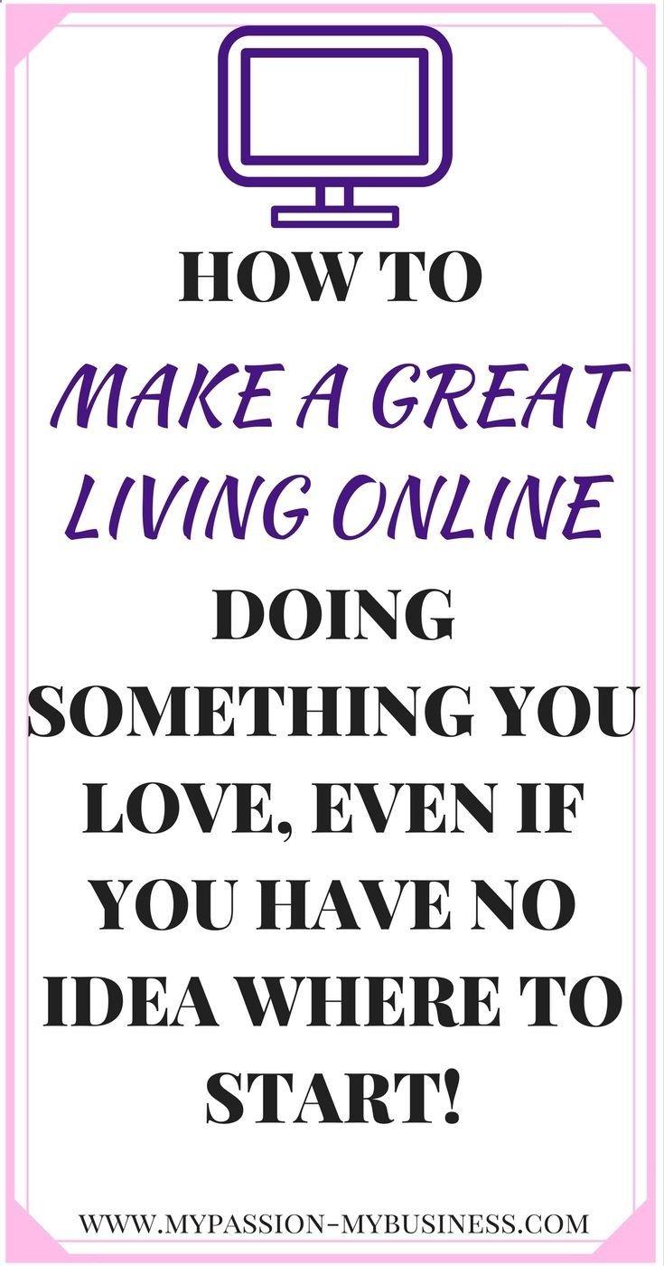 Make Money Online | Start An Online Business | Work From Home ...