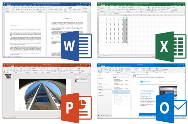 Microsoft Office 2016 Screenshots.png Microsoft office