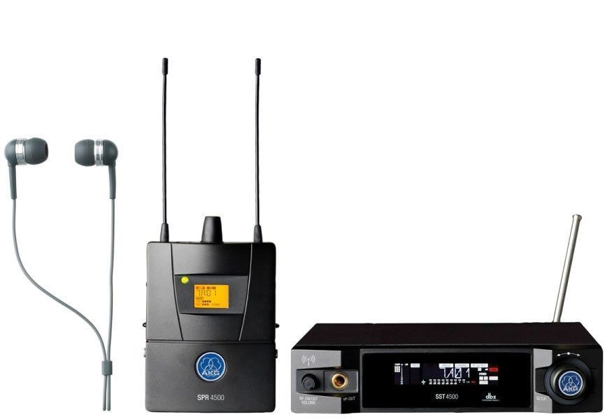 Akg Ivm4500 Iem Set Reference Wireless In Ear Monitoring System With Images Akg Wireless System