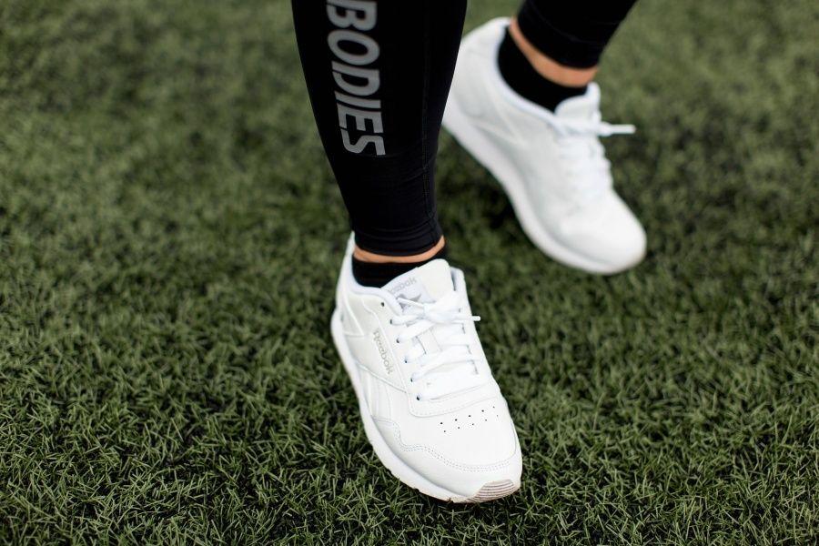 Reebok Royal Glide Favoritten blant hvite sneakers!   Hot