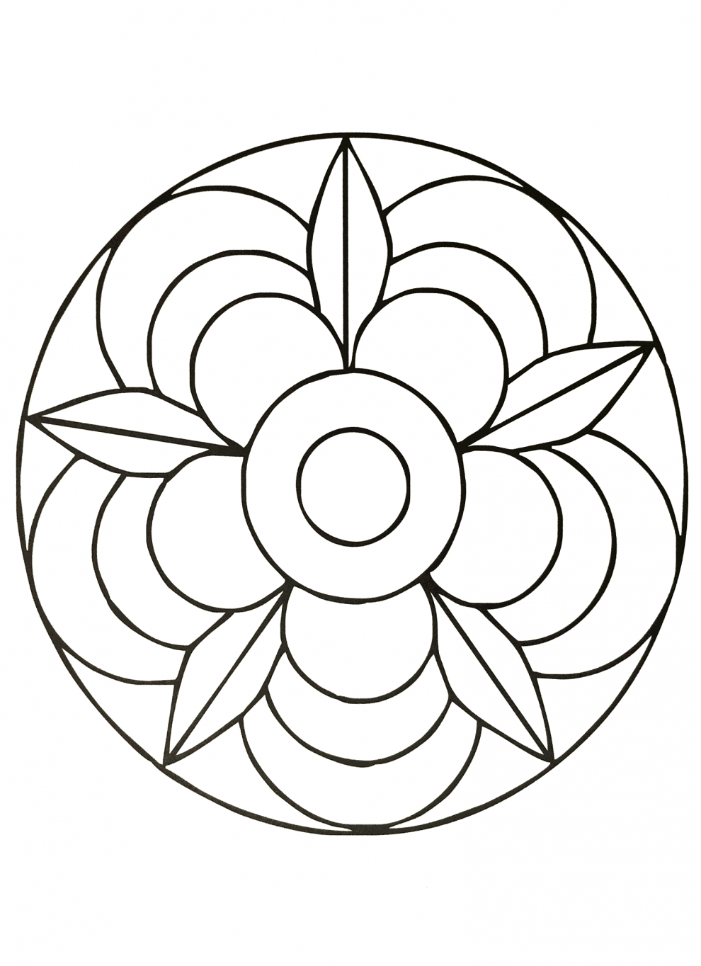 Mandalas Guía Con Imágenes De Mándalas Para Colorear
