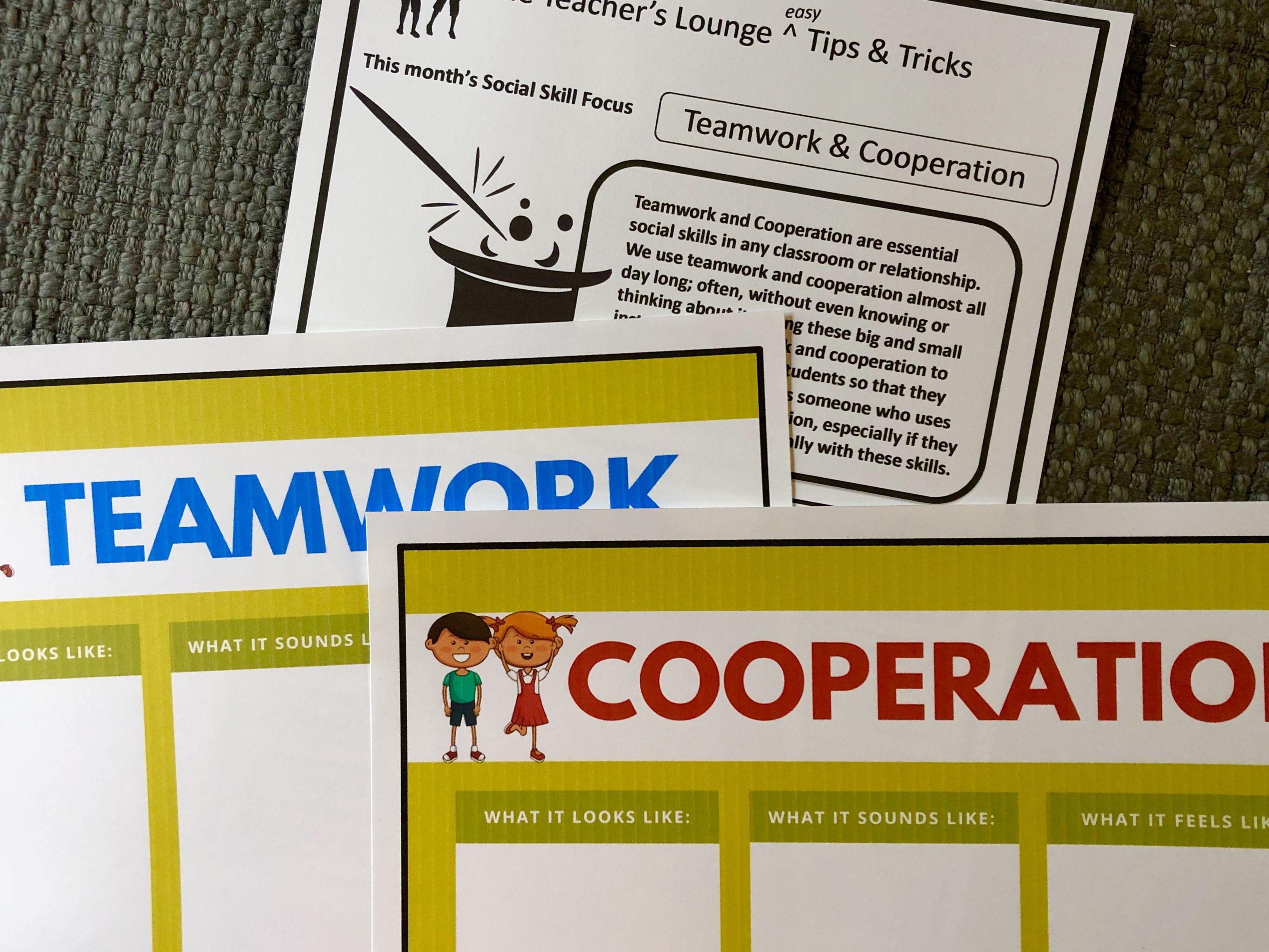 Teach Teamwork And Cooperation