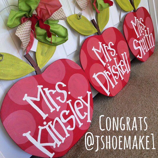 Congratulations @jshoemake1! Youu0027re the winner of the apple door - healthcare door hanger