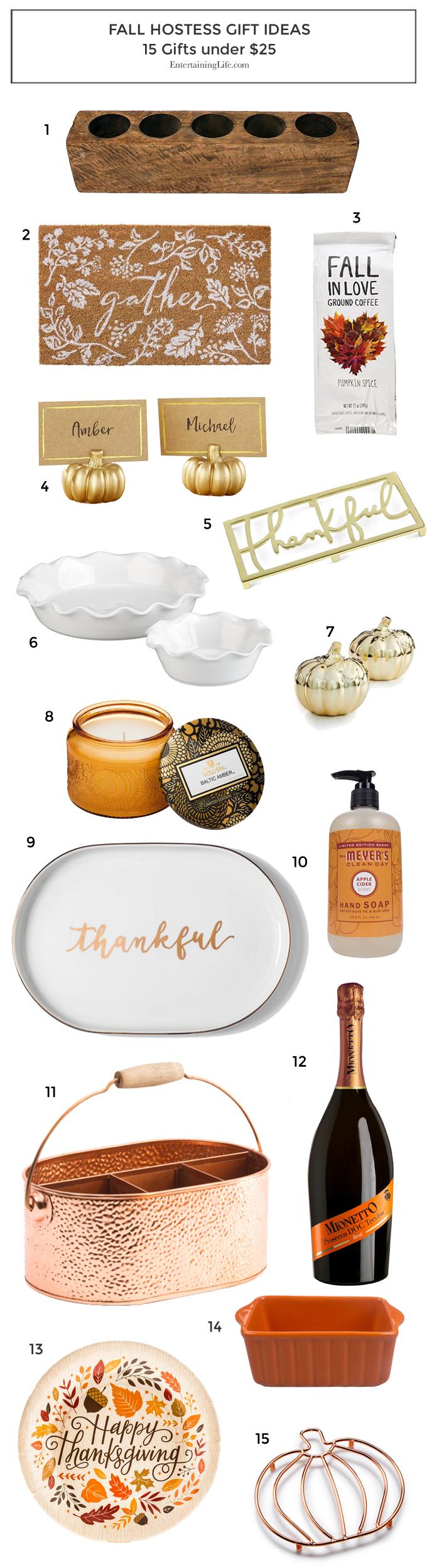 Inexpensive Fall Hostess Gift Ideas Fall Hostess Gifts Hostess Gifts Inexpensive Hostess Gifts